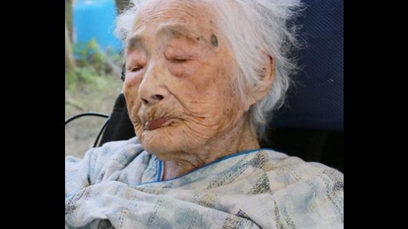 '세계 최고령' 일본 할머니 117세로 별세…후손 160여 명