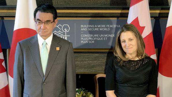 일본, 캐나다와 '상호군수지원협정' 체결....한국에도 추진 의사 전달