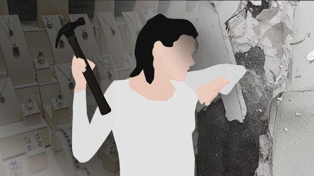 [사건후] 금은방 털려고 6시간 동안 벽 뚫은 30대 여성