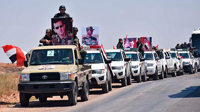 """시리아군 """"중서부 홈스 반군 모두 퇴각…주 전체 장악"""""""