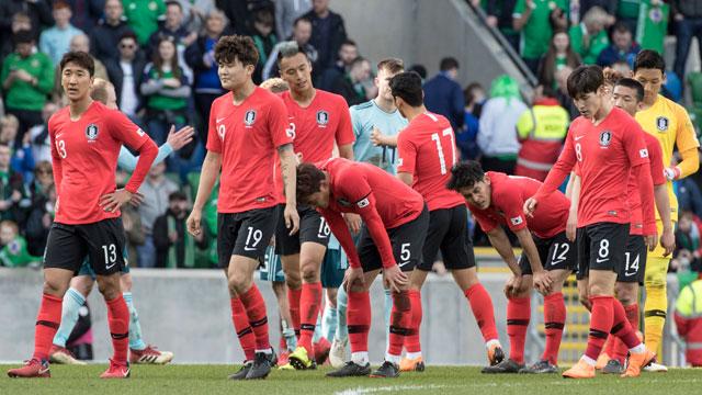 월드컵 출격 앞둔 한국 축구, 5월 FIFA 랭킹 61위 유지
