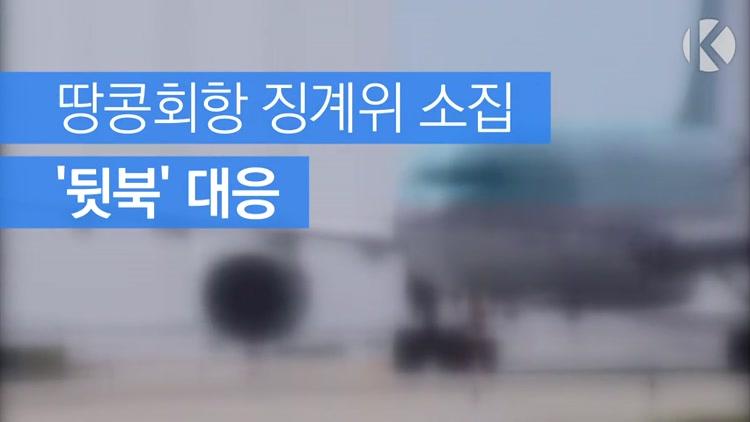 [자막뉴스] 땅콩회항 징계위 소집 '뒷북' 대응
