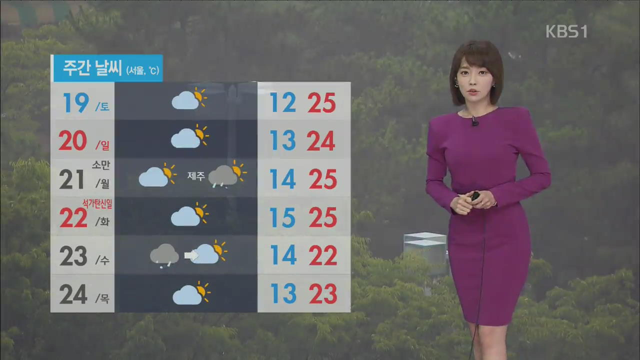 [날씨] 서쪽부터 비 그쳐…한낮 기온 낮지만 습도 높아
