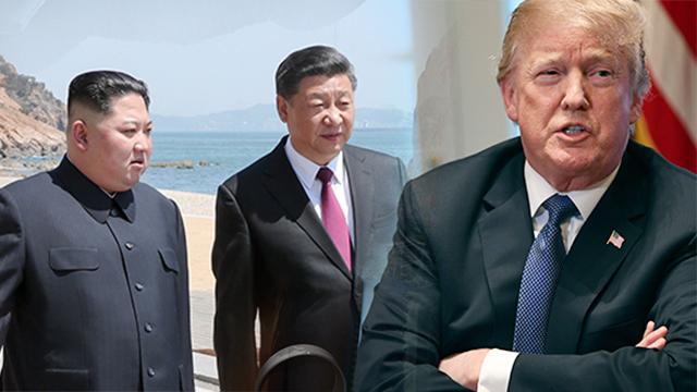 트럼프 대통령, 北 돌변 이유로 '시진핑 배후론' 제기