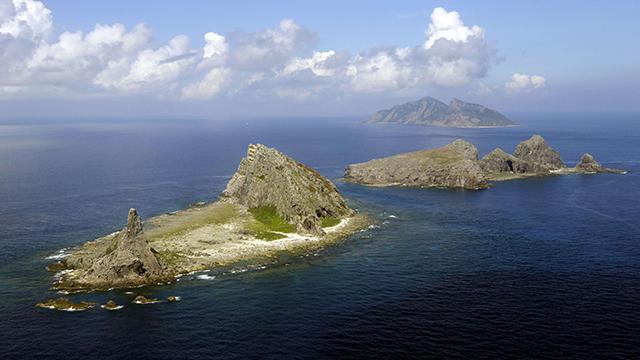 중국 선박 3척, 센카쿠 열도 해역 진입