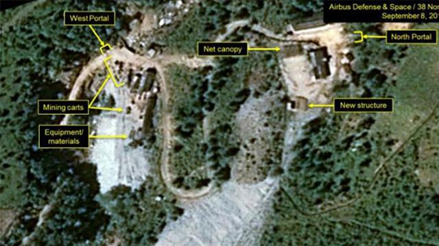 [속보] 北, '풍계리 핵실험장 폐기' 명단 통지문 거부