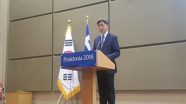 """그리스서 '한-그리스 해양협력 포럼'…""""조선·해운 협력강화"""""""