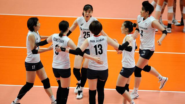 한국 여자배구, 미국에 완패…4연속 셧아웃당해