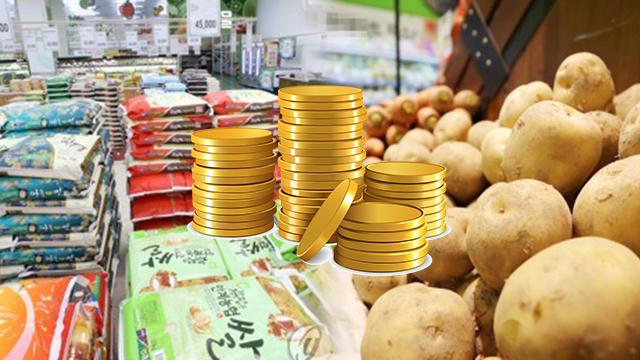 """""""농산물 가격 안정 위해 쌀 10만 톤 풀고 감자 수급 직접 관리"""""""