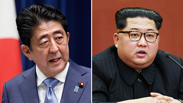 """日언론 """"김정은, 북일회담에 긍정적…아베 '8월 방북' 검토"""""""