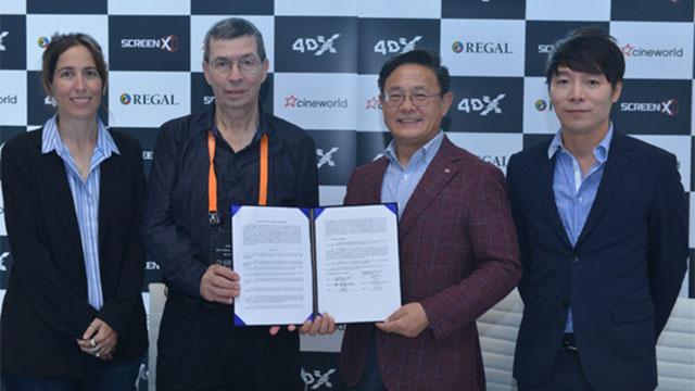 한국산 스크린X, 세계로 확산