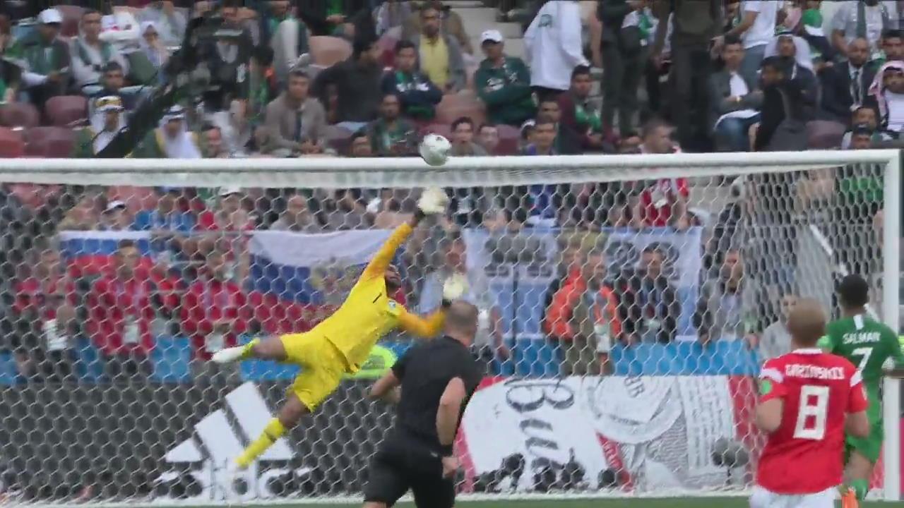 [월드컵 골장면] 러시아 5:0 사우디아라비아