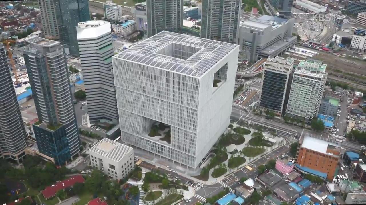 회사 건물에 구멍이?…사옥의 이유 있는 변신