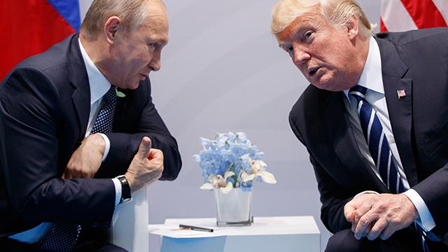 """트럼프, 푸틴과 정상회담서 북핵 논의할 듯…""""대북제재 유지 요청"""""""
