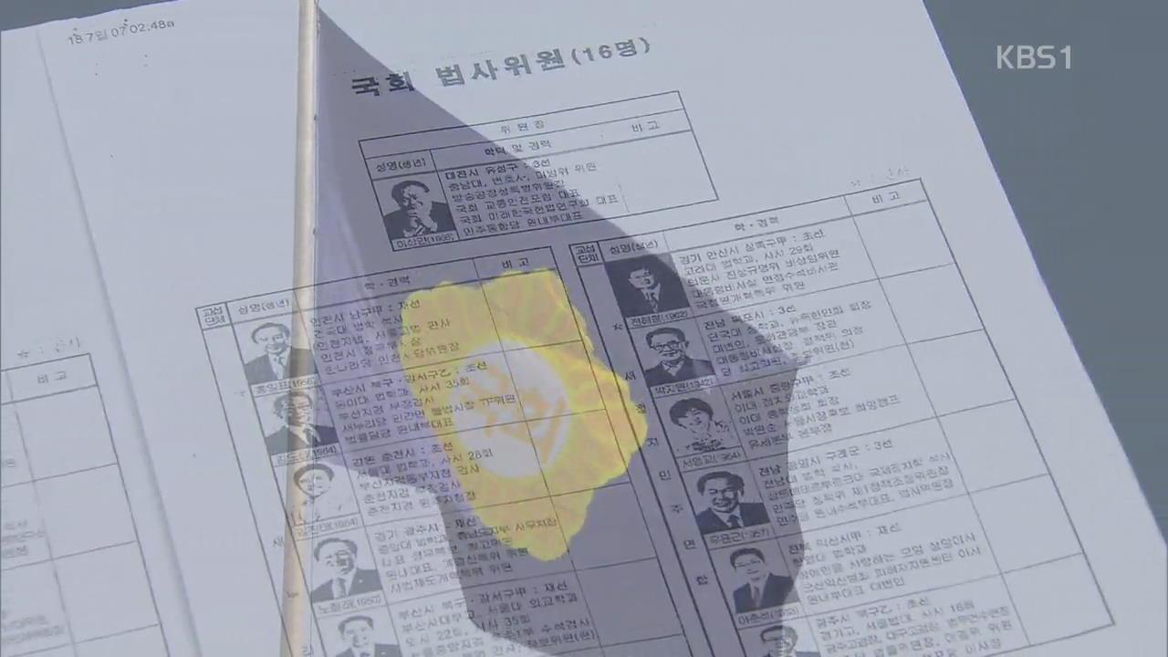 '친밀도 A'-스스럼없는 사이…기무사, 국회의원 회유·로비?