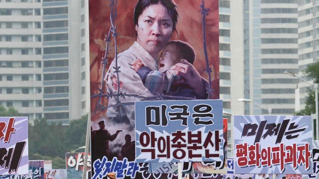 """평양주재 서방외교관 """"반미구호 사라지고 있다"""""""