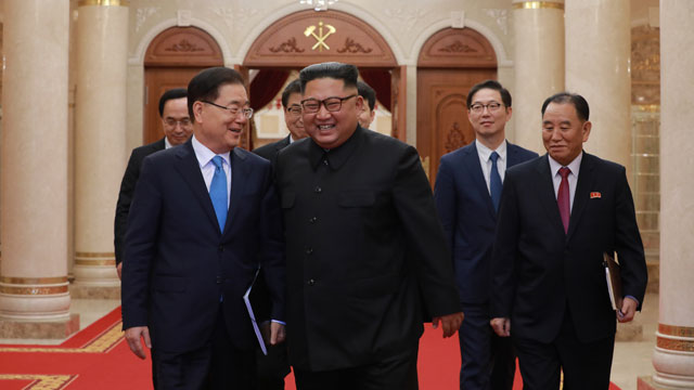 김정은 발언의 이슈별 키워드 …공은 다시 트럼프에게?