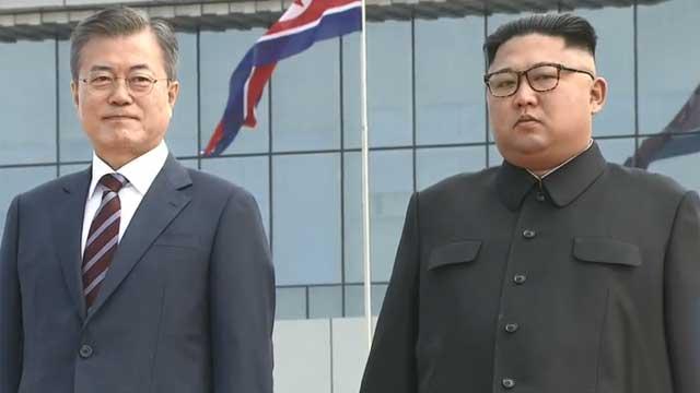 """남북 정상, 오후 3시 30분 첫 회담 …""""문 대통령 이동 중 카퍼레이드"""""""
