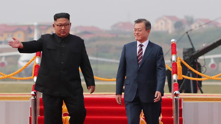 """문 대통령 """"방북으로 북미 대화 재개되면 큰 의미"""""""
