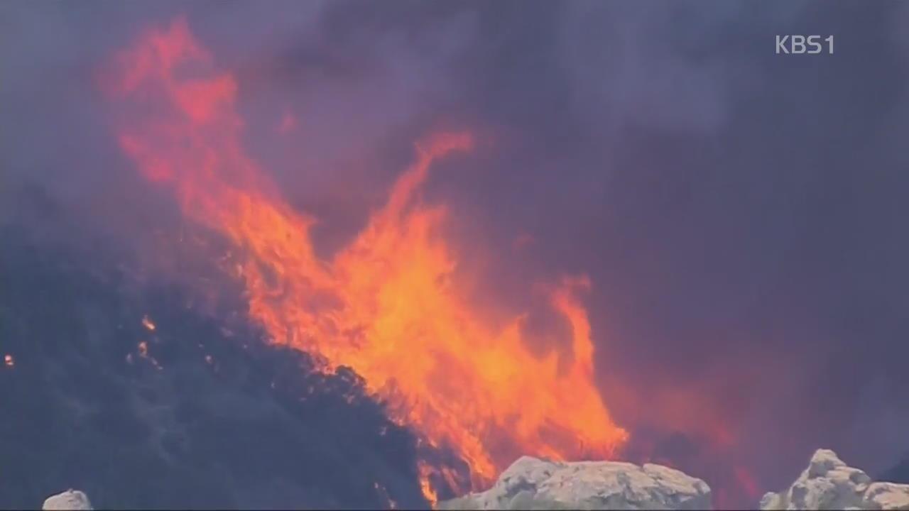 캘리포니아 산불 사망자 42명 '역대 최다'…강풍 타고 새 산불