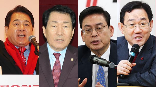 """심재철·안상수·정우택·주호영 """"전당대회 2주 연기·TV토론 6회 이상"""""""