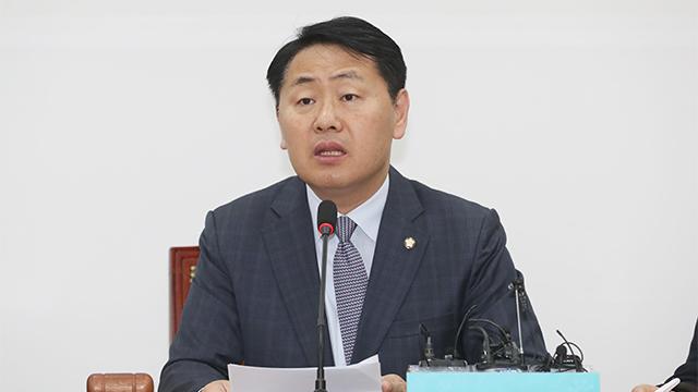 """김관영 """"일단 만나자""""…교섭단체 원내대표 회동 제안"""