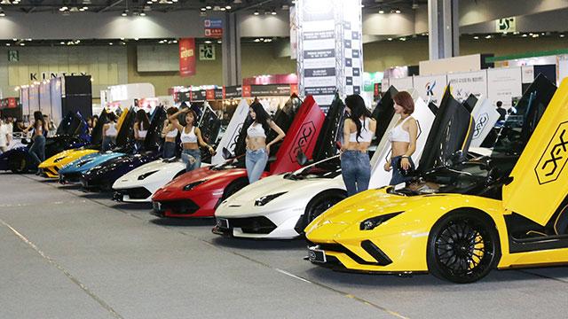 '자동차 애프터마켓 전시회' 오토살롱위크 개막
