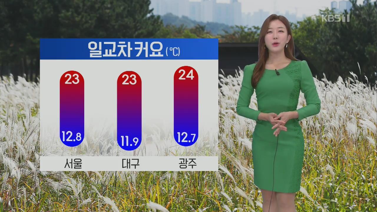 [날씨] 오늘 전국 맑음…수도권, 충청 미세먼지 '나쁨'