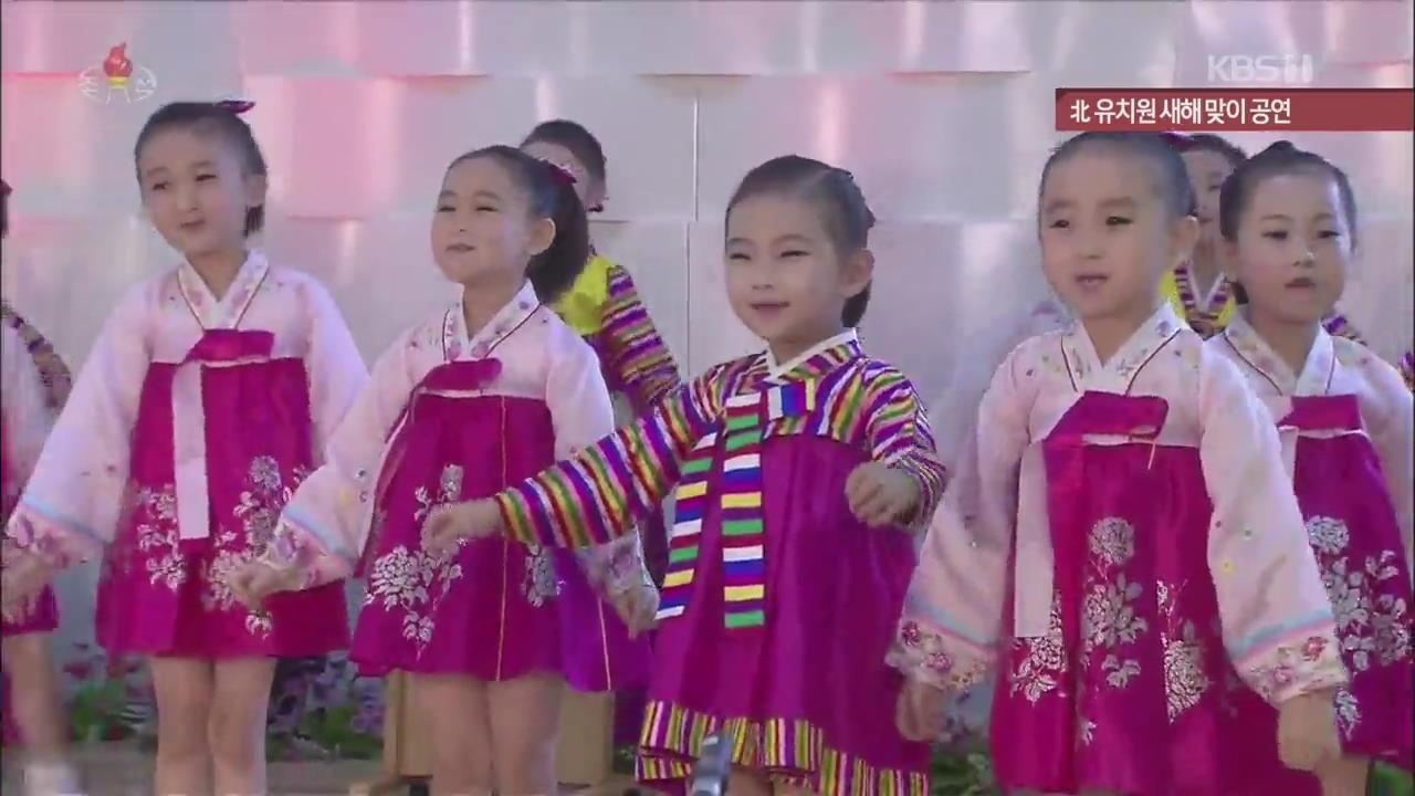 [북한 영상] 北 유치원 새해 맞이 공연