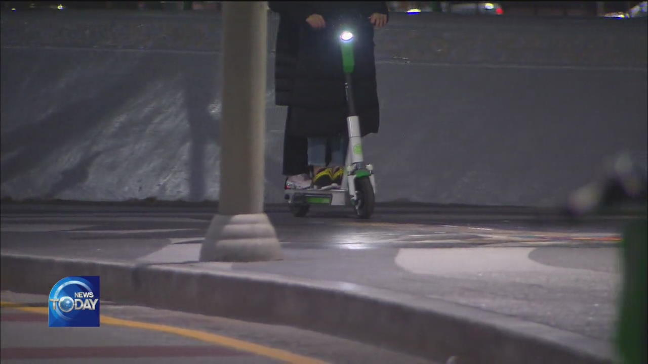SAFETY CONCERNS OVER ELECTRIC SCOOTERS