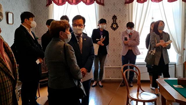러시아 도스토옙스키 기념관 한국어 음성 안내 서비스 시작