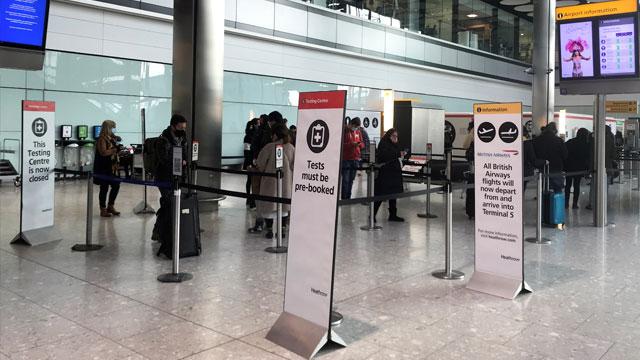 영국, 모든 입국자 10일 자가격리 의무화…한국도 포함