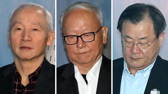 '박근혜에 특활비 상납' 전 국정원장들 재상고…대법원서 최종 판단