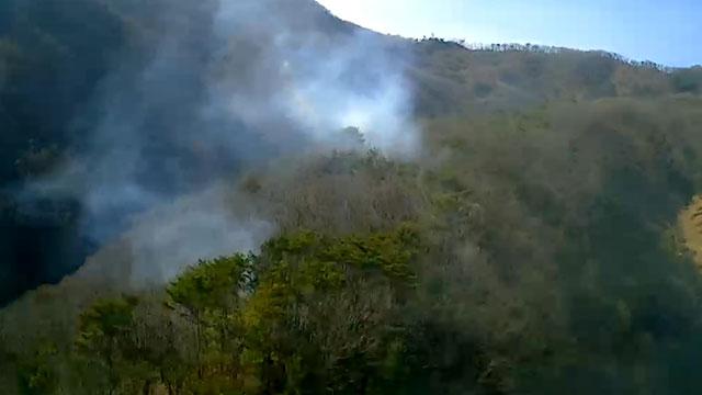 경기 광주 야산에서 불…양평서도 산불