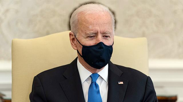 """바이든, 마스크 '벗어던진' 주지사들에 """"네안데르탈인적 사고"""""""