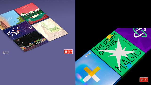 BTS 그림책·TXT 앨범, 세계 3대 디자인상 'iF 디자인 어워즈' 본상