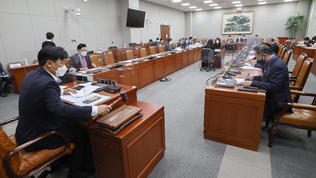 국회법 개정안 상임위 통과…'국회의원 이해충돌' 사항 공개