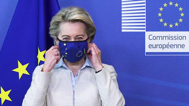 """EU """"코로나19 백신 지재권 면제 제안 논의할 준비 돼 있다"""""""