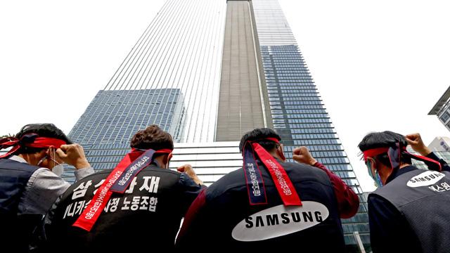 삼성디스플레이 노조, 쟁의활동 찬반투표 가결…91% 찬성률