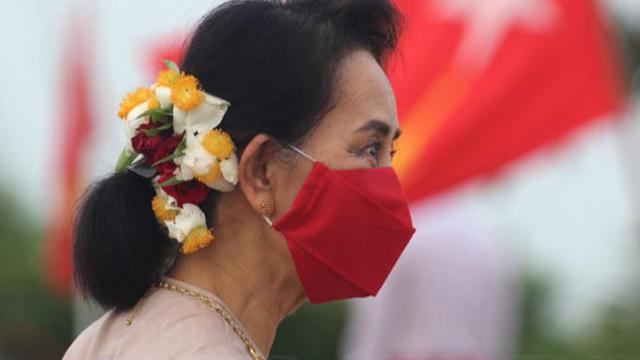 '가택연금 100일' 아웅 산 수 치, 24일 법정에 출석