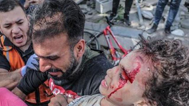 이스라엘 보복 공습 7일째 가자지구 42명 사망…일일 사망자 최대 규모