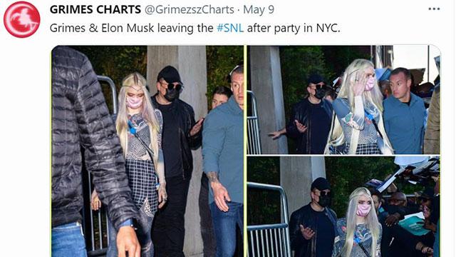 머스크, 도지코인 폭락시킨 SNL 출연 직후 가상화폐 파티 참석