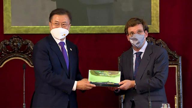 한·스페인 정상회담…'전략적 동반자 관계'로 격상