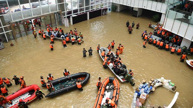 김정은, 시진핑에 '홍수 피해' 위문 구두친서