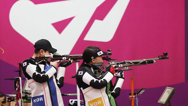 박희문·권은지, 올림픽 여자 10m 공기소총 결선행…첫 메달 기대