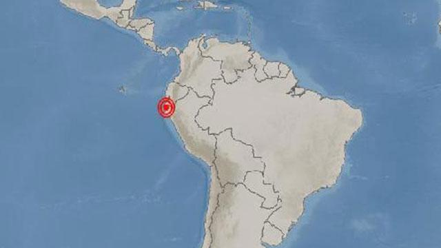 페루 수야나 동쪽서 규모 6.1 지진 발생