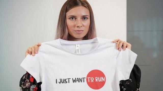 도쿄올림픽 망명 전 벨라루스 육상선수, 메달 판매해 기부