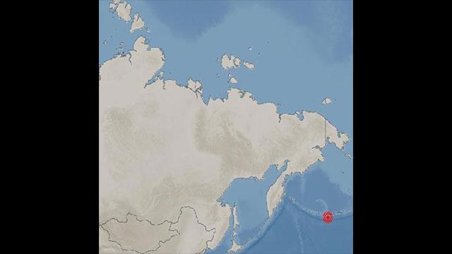 기상청, 알래스카 아닥 서남서쪽서 규모 6.3 지진 발생