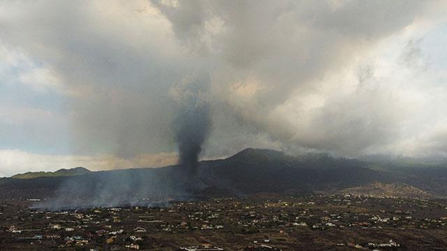 """AP통신, 화산 폭발 카나리제도…용암 둔화 """"피해확대"""" 우려"""