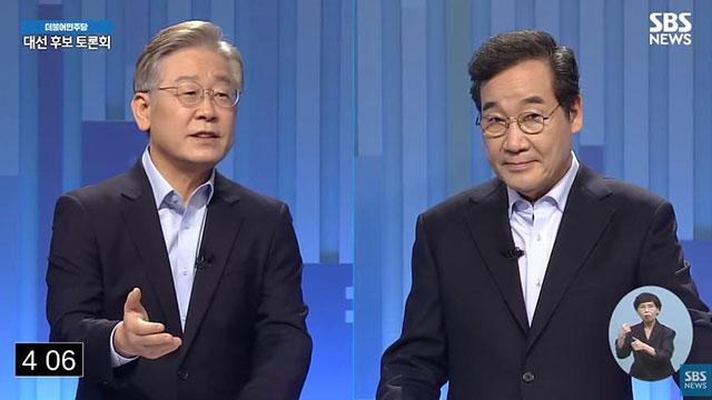 '대장동 의혹'에… 부동산 정책으로 맞붙은 민주당 TV 토론
